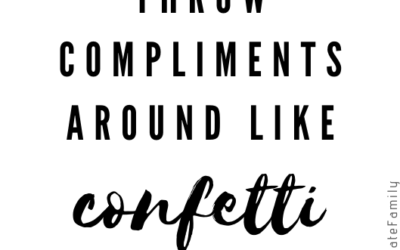 Day 10: Be Someone Who Gives Compliments Freely